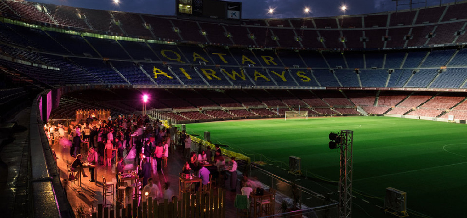 El Camp Nou ofrece cenas con sello Arts Catering en un restaurante 'pop-up'