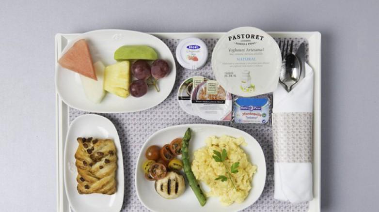 Air Europa ofrece catering ecológico