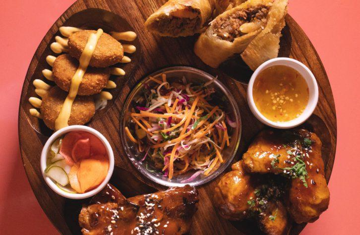De moda comida Tiki: Hawaii